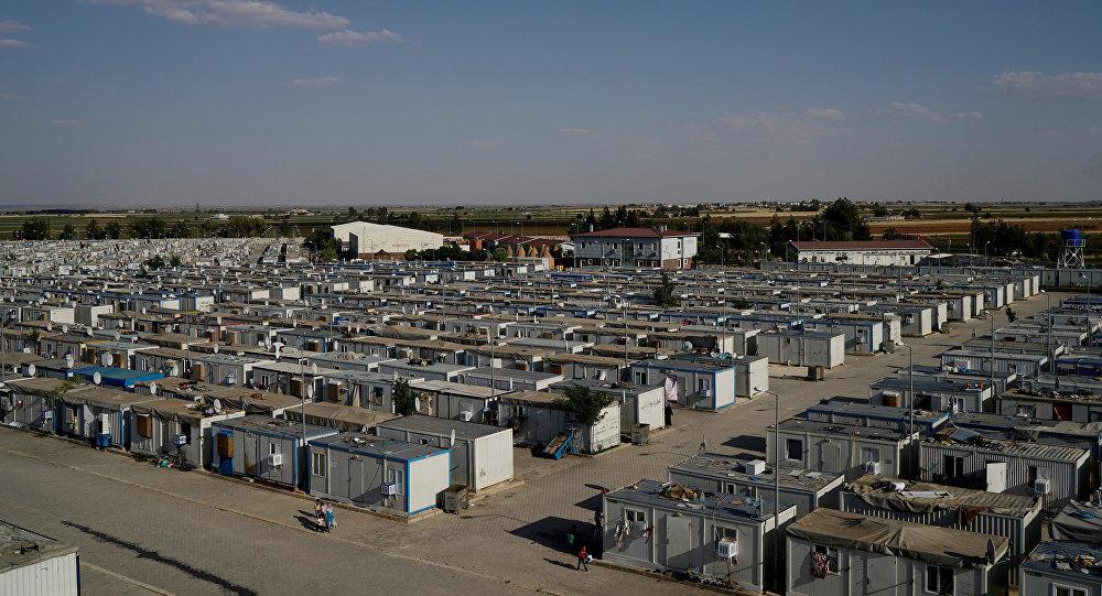 Сampo de refugiados en Turquía