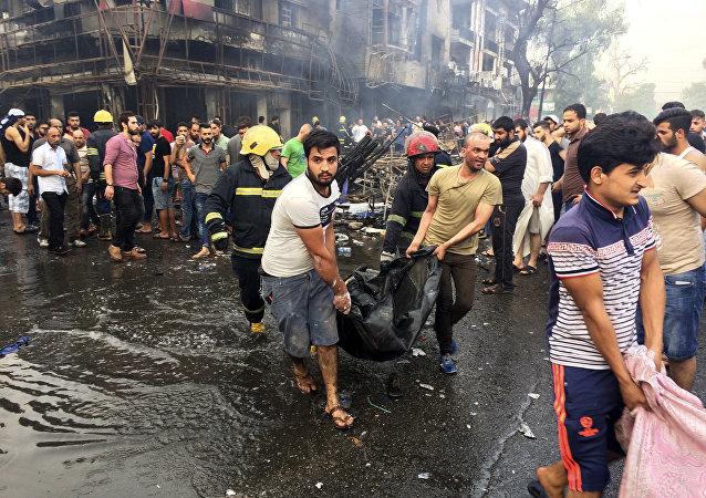 Doble atentado en Bagdad, 3 de julio de 2016