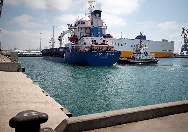 El barco turco Lady Leyla