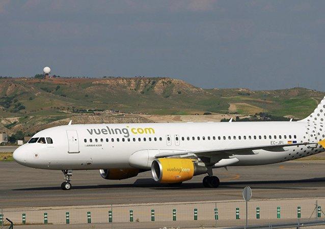 La aerolínea española de bajo coste Vueling Airlines