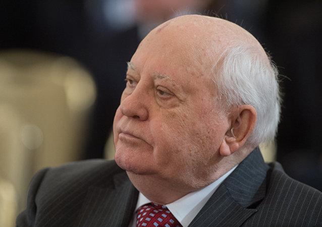 El exlíder de la Unión Soviética, Mijaíl Gorbachov