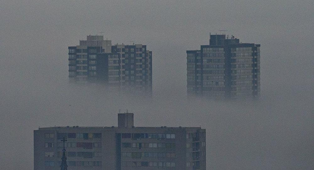 Contaminación en Santiago de Chile