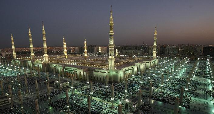 La mezquita del profeta Mahoma en Arabia Saudí (archivo)