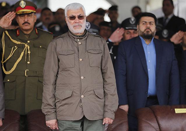 Abu al Mahdi Muhandis, uno de los principales líderes militares y políticos chiitas de Irak