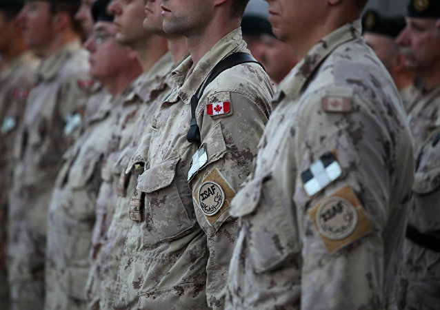 Militares canadienses (archivo)