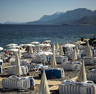 Uno de los balnearios turcos