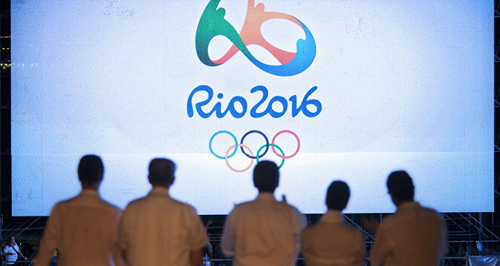 2016 Rio Olympic Games logo. File photo
