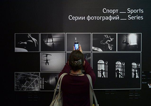 Las obras del fotoperiodista Andréi Stenin