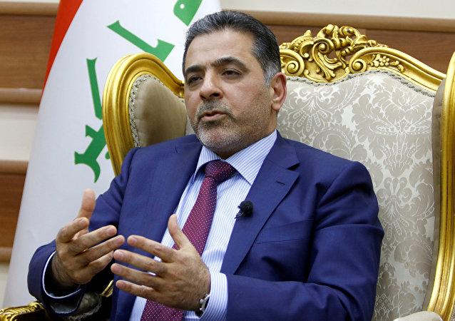Mohamed Al Ghabban, ministro iraquí del Interior
