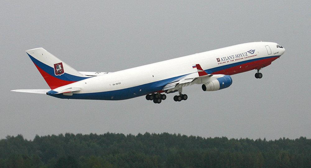 Avión Ilyushin IL-96-400