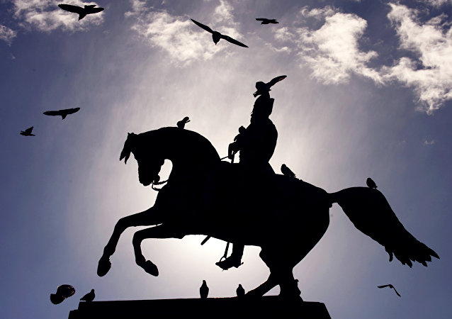 Monumento al General San Martín en Buenos Aires, Argentina