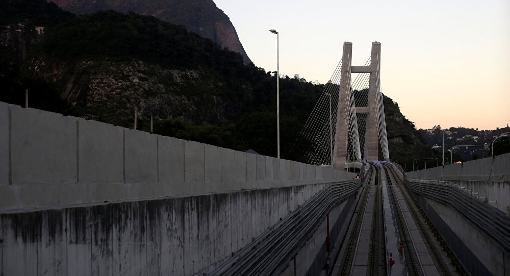 La línea 4 del metro de Río de Janeiro