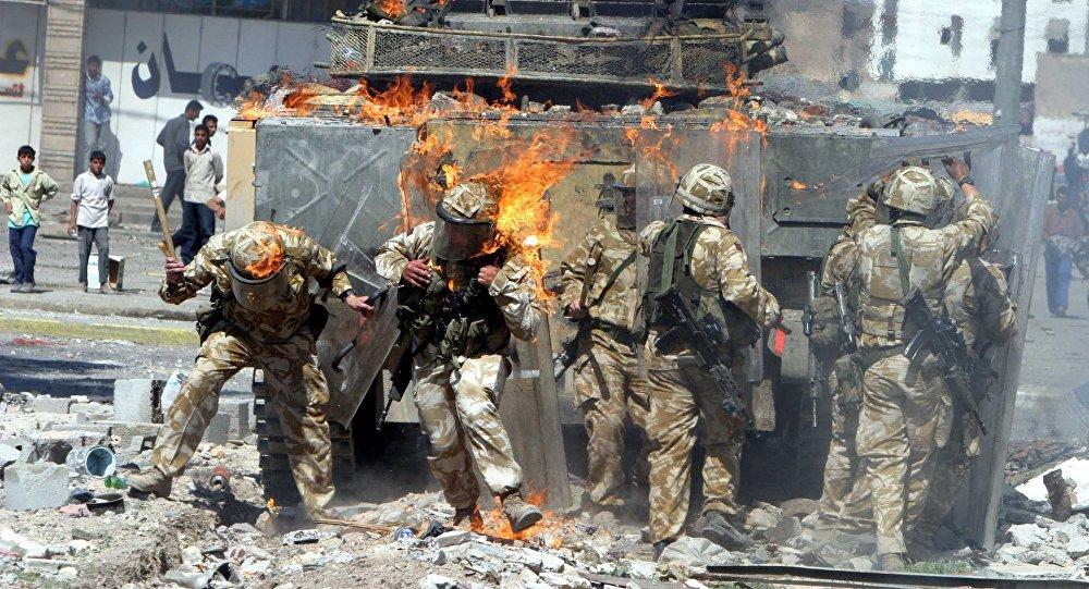 Militares británicos en Irak (2004)