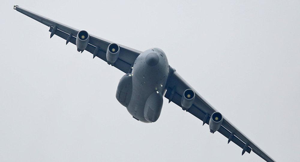 Y-20, el avión de diseño propio chino con mayor capacidad de carga del país