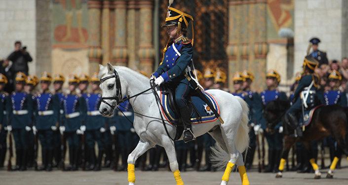 Alumno del Regimiento Presidencial