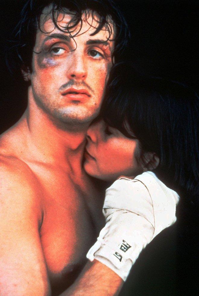 Sylvester Stallone, en el papel de Rocky (1976).
