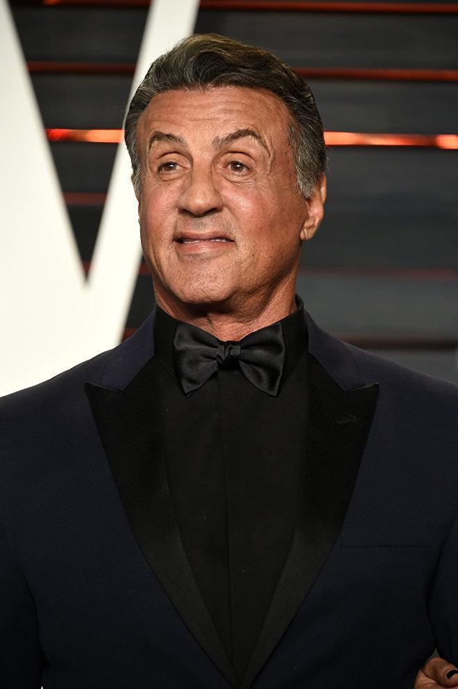 El actor estadounidense, Sylvester Stallone