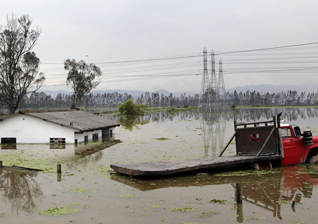 Inundaciones en Colombia (archivo)