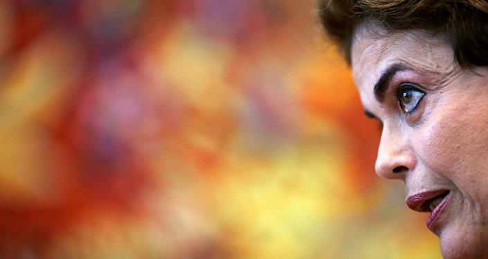 La expresidenta brasileña Dilma Rousseff