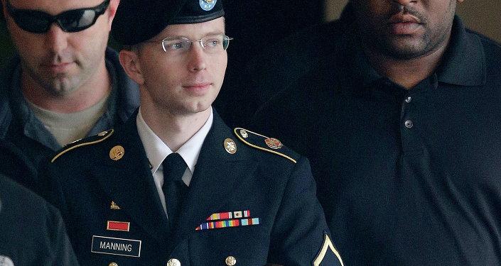 El exsoldado estadounidense Bradley Manning (ahora Chelsea Manning)