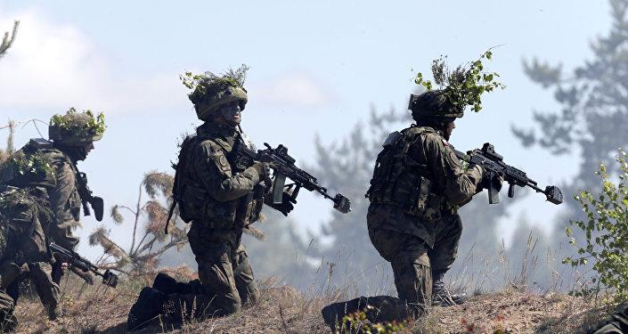 Las maniobras de la OTAN en Polonia