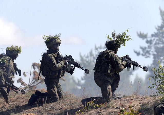 Maniobras de la OTAN en Polonia (archivo)