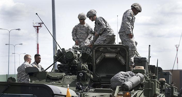 Maniobras de la OTAN en Lituania