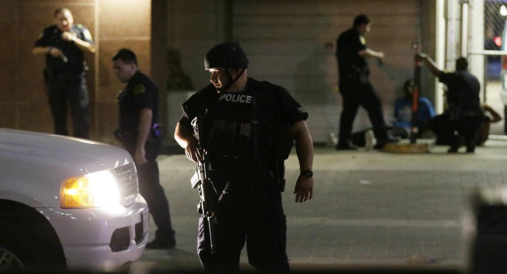 Los policías de Dallas