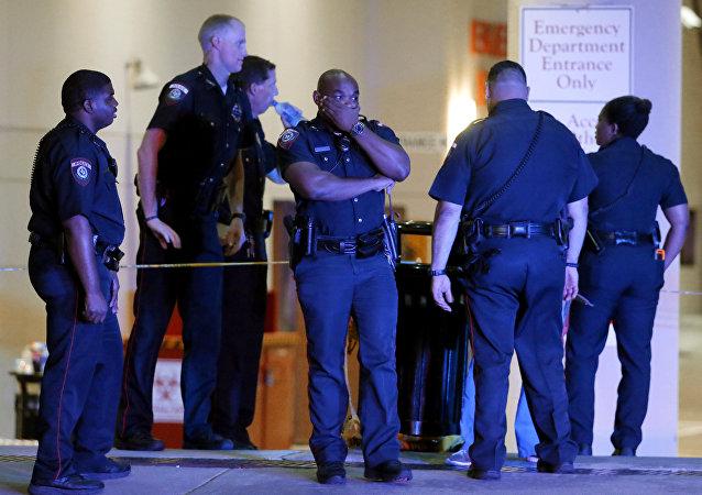 Los policías de Dallas, Texas