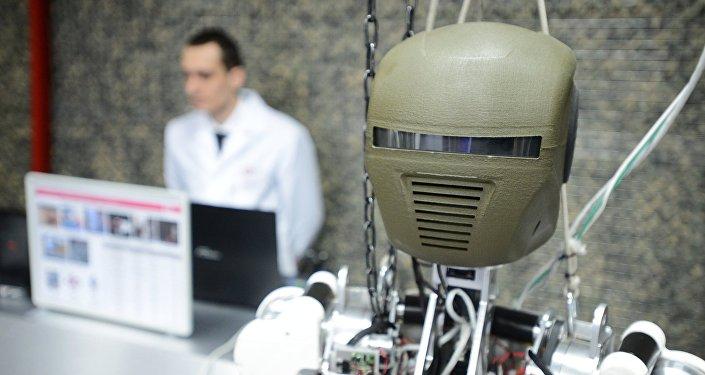 Un robot ruso (Archivo)