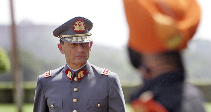 Juan Emilio Cheyre, exjefe del Ejército chileno