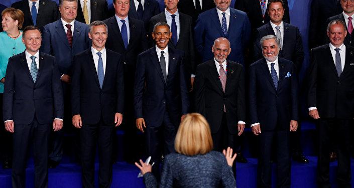 La cumbre de la OTAN en Varsovia en 2016