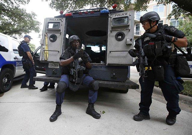Agentes de Policía de Dallas