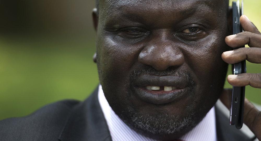 Riek Machar, vicepresidente de Sudán del Sur
