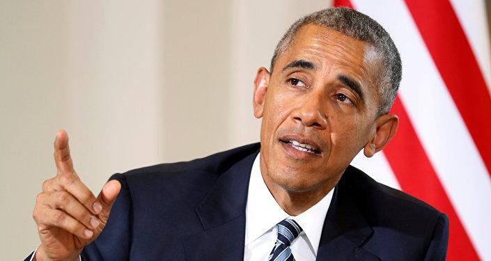 Barack Obama, presidente de EEUU, durante su visita en España, el 10 de julio de 2016