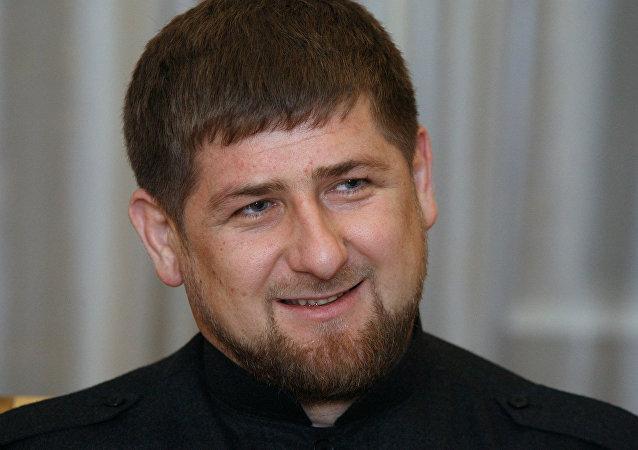 El presidente de Chechenia, Ramzán Kadírov