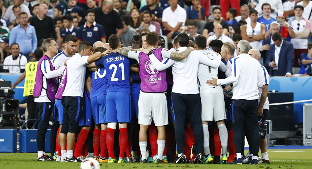 Selección francesa de fútbol (archivo)