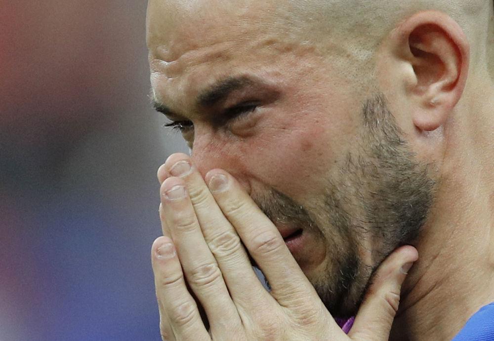 Euforia y llanto en la final de la Eurocopa 2016