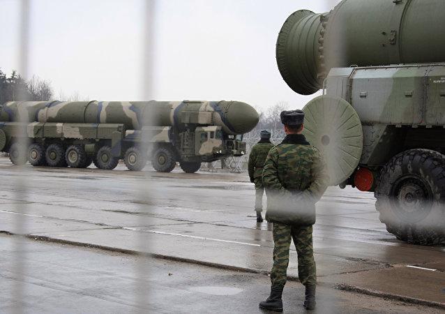 Los misiles intercontinentales rusos Topol
