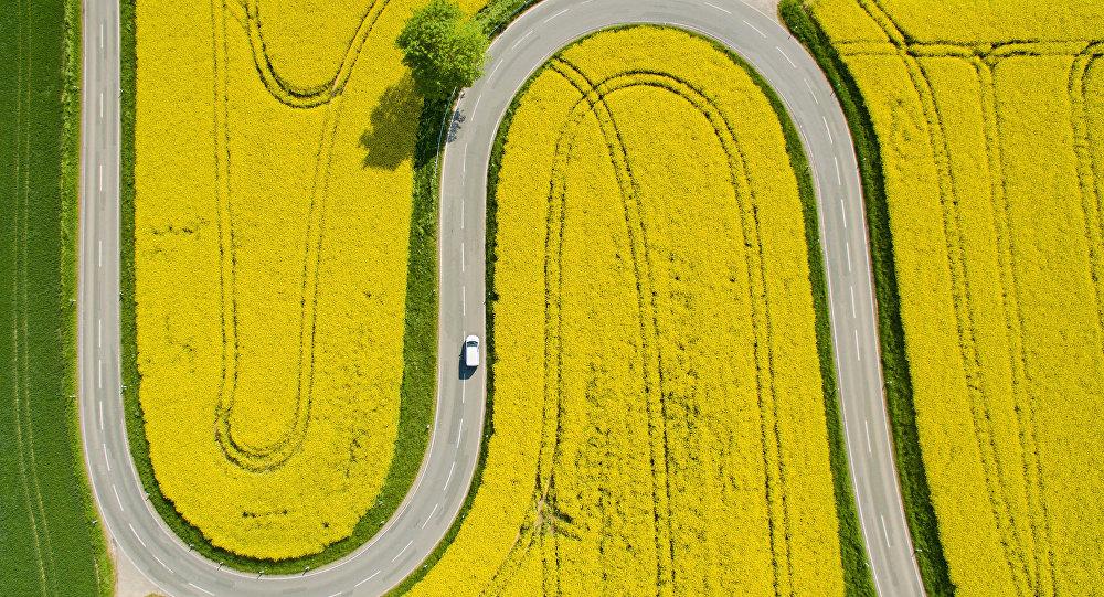 Alemania, vista aérea