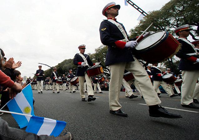 Сelebración del Bicentenario de la Independencia argentina