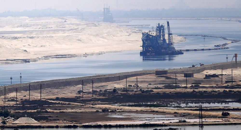 Сanal de Suez (imagen referencial)