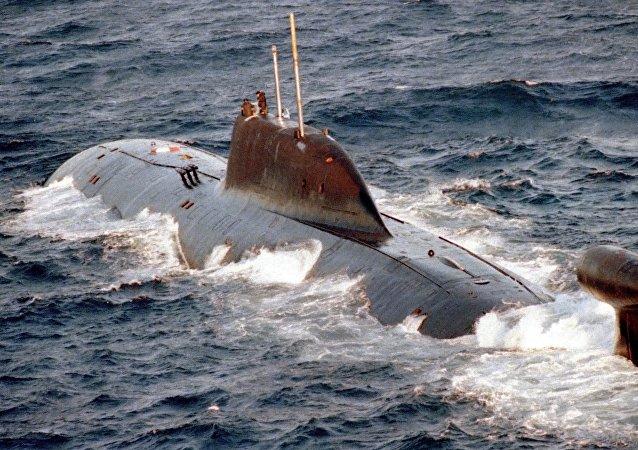 El submarino nuclear ruso K-322 Kashalot