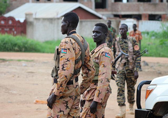 Policía de Sudán