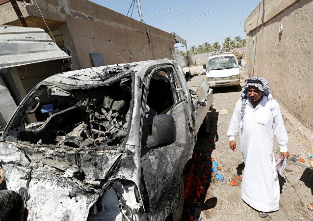 Atentado con coche bomba en Bagdad (archivo)