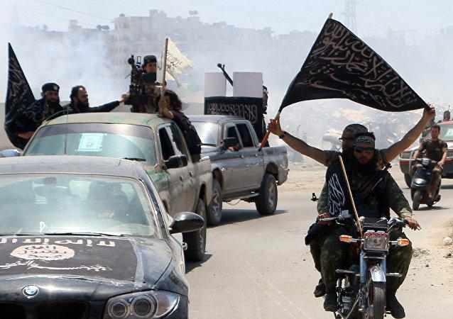 Terroristas en Siria (archivo)