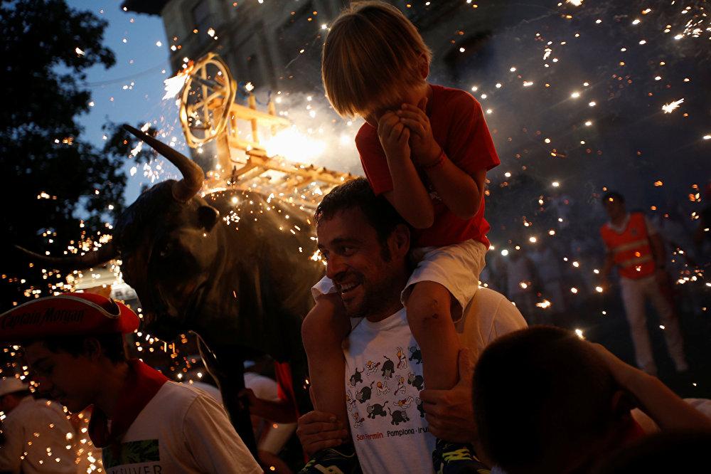 Entretenimiento peligroso: la fiesta de San Fermín en España