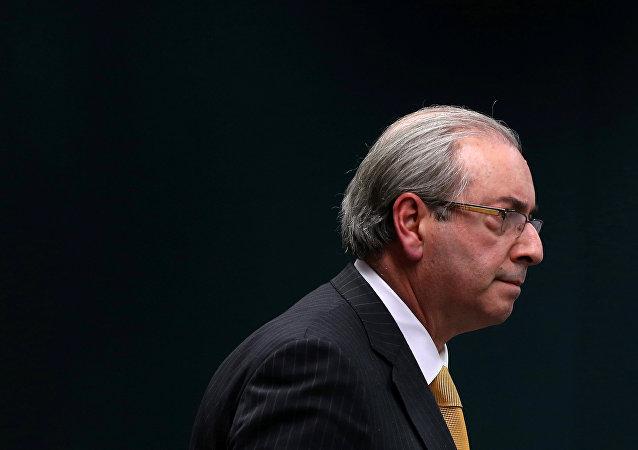 Eduardo Cunha, el expresidente de la Cámara de Diputados de Brasil