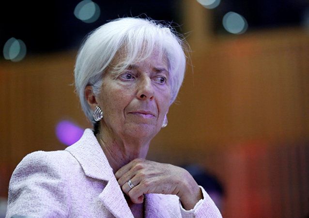 Christine Lagarde, gerente del Fondo Monetario Internacional