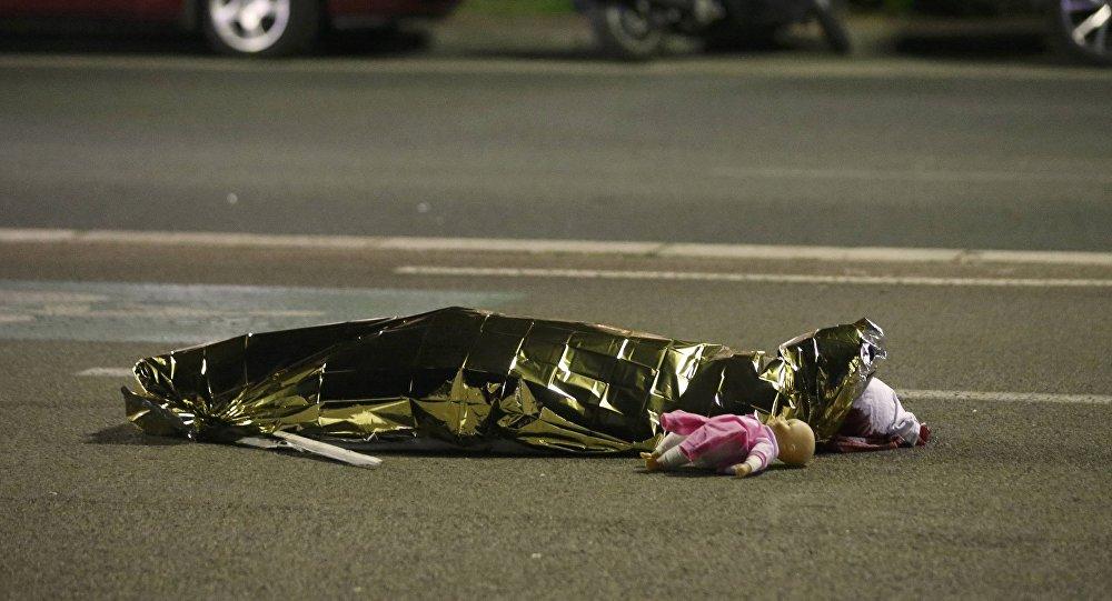 Situación en Niza tras el ataque con un camión